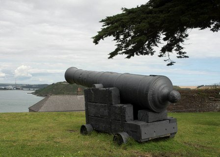 Cannon at Camden Fort Meagher