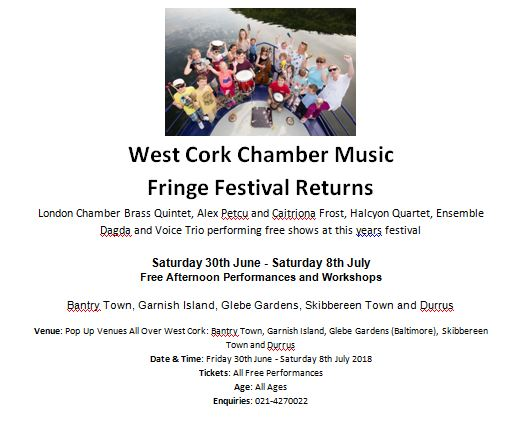 West Cork Chamber Music Fringe Festival