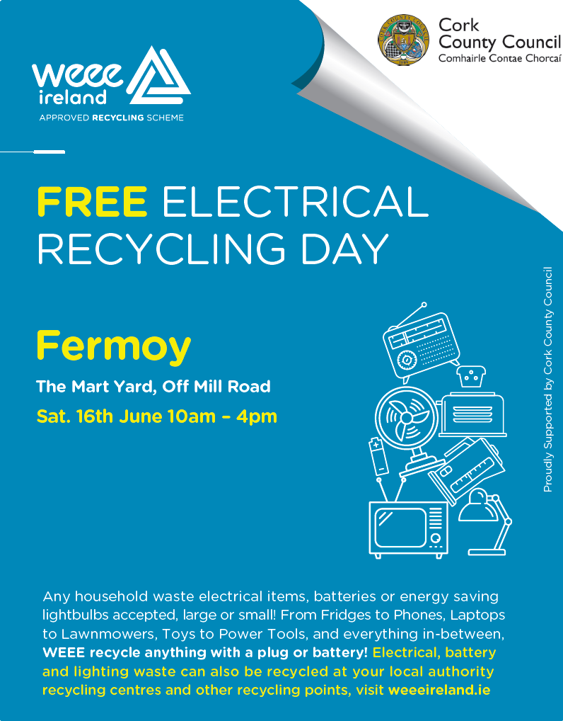 WEEE Fermoy Recycling Day