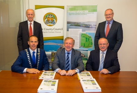 ​   ​Contracts signing signals the beginning of a park at Haulbowline