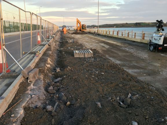 Works commence on public access road