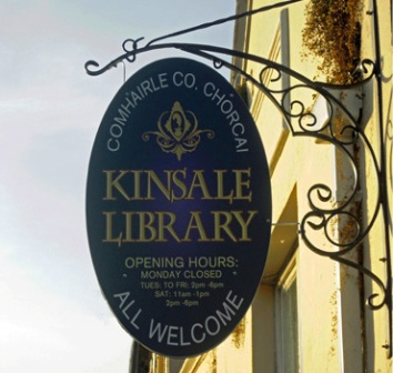 Kinsale Library Sign