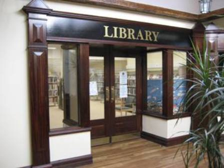 The Entrance to Youghal Library