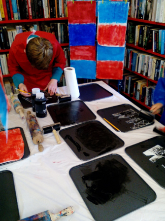 Printmaking Workshop at Clonakilty Library