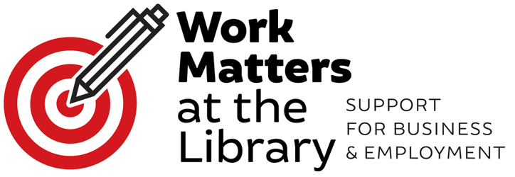 Work matters at the Library logo