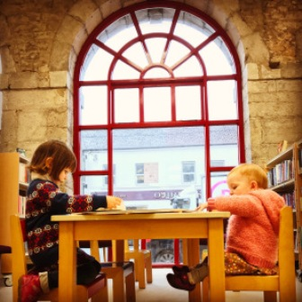 Children at Midleton Library.