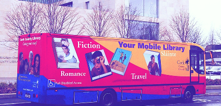 A mobile Library bus