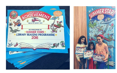 Summer Reading Programme Certificates & Kids