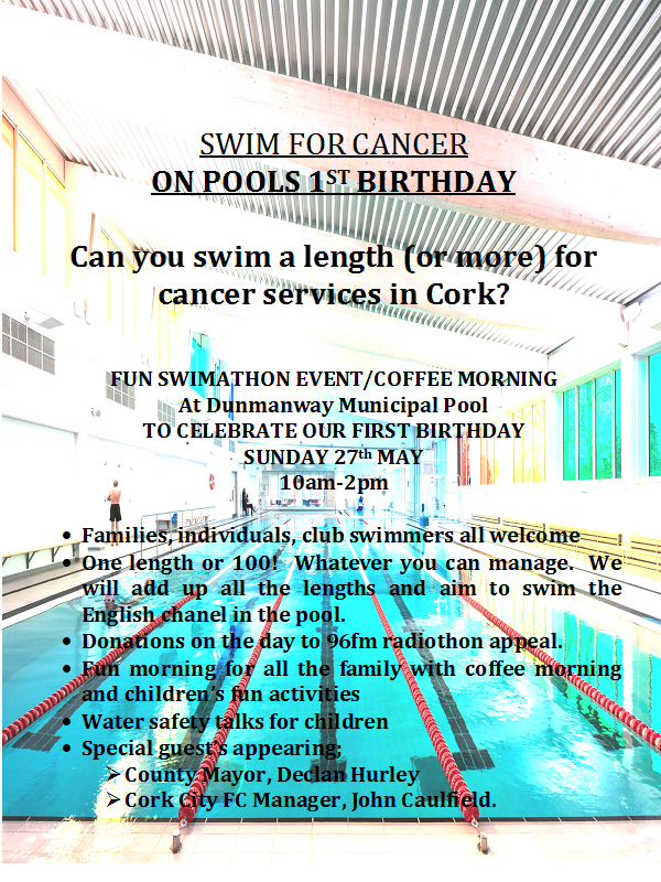 Swimathon in Dunmanway Swimming Pool