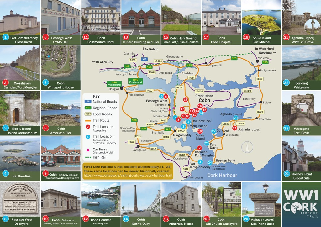 ww1 cork harbour trail brochure Page 2