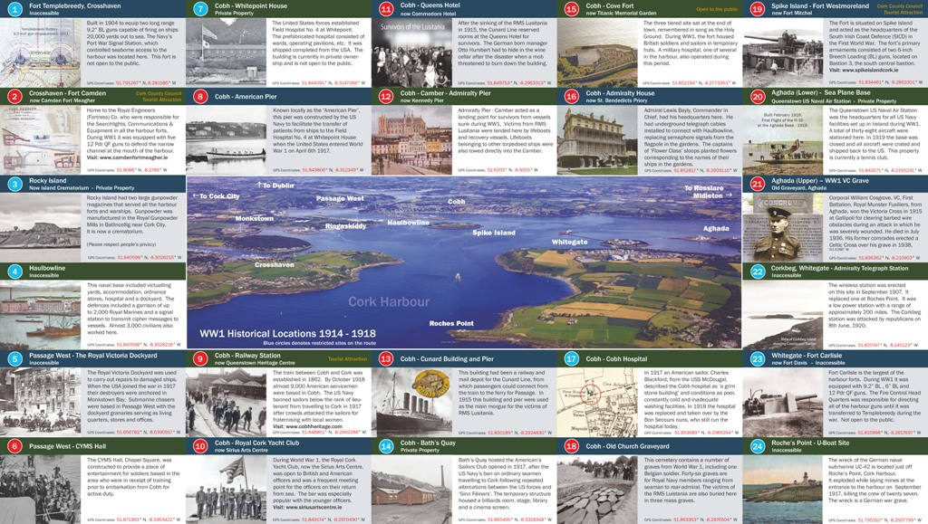 ww1 cork harbour trail brochure Page 3